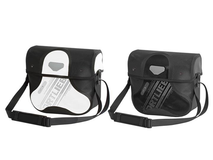 Ortlieb Handlebar Bag : Black'n White Line