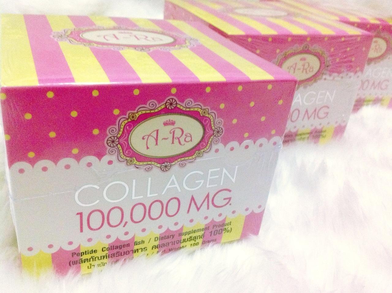 A-Ra Collagen 100,000mg. เอ ระ คอลลาเจน 100,000 สุดยอด แห่งความขาว