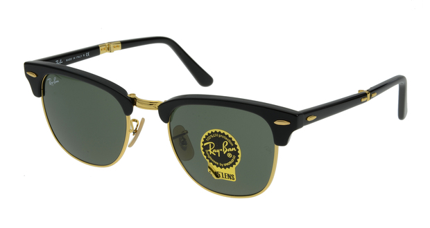 RayBan RB2176 901 CLUBMASTER FOLDING