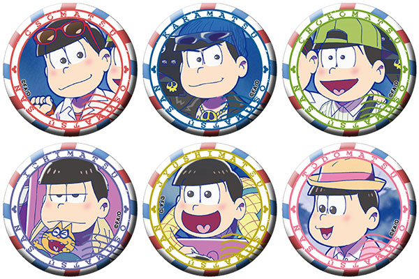 Osomatsu-san - Chara Badge Collection A 6Pack BOX(Pre-order)