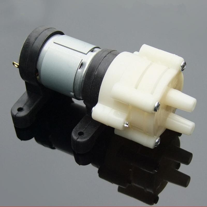 ปั๊มน้ำขนาดเล็ก ปั๊มลม vacuum pump DC 6-12v