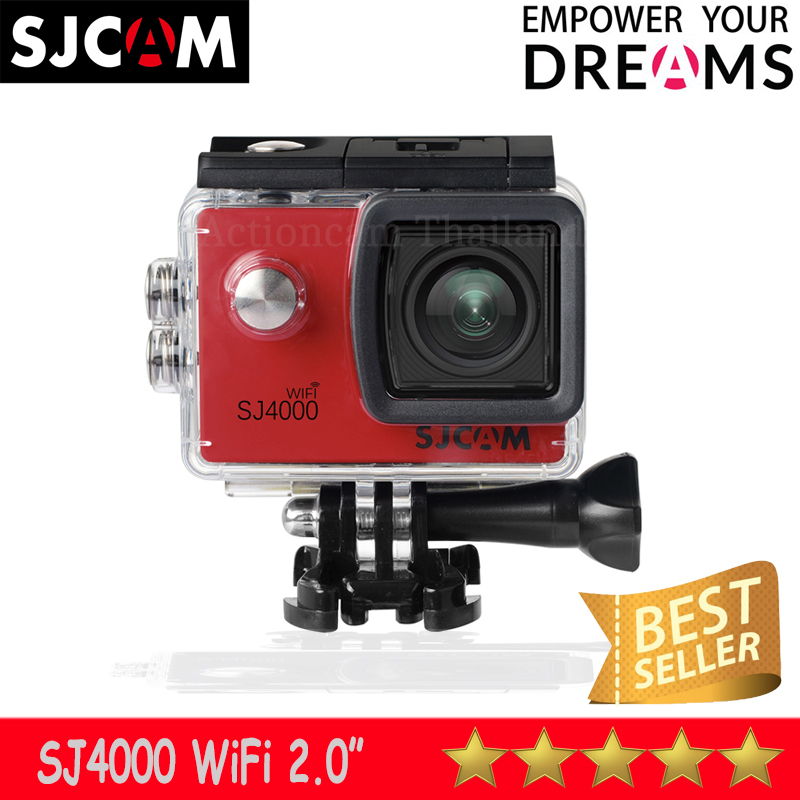 SJCAM SJ4000 WIFI 2.0 นิ้ว (Red) ประกัน 1 ปี
