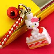 ที่ห้อยมือถือ Hello Kitty Dream Job พวงกุญแจไซส์มินิ หนึ่งในอาชีพใฝ่ฝันของคิตตี้ (เชฟทำขนม) น่ารักมากค่ะ