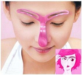 Eyebrow Template อุปกรณ์ที่ช่วยวาดคิ้วของคุณให้สวยขึ้น ใช้งานง่าย สะดวกขึ้น