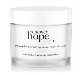 Philosophy renewed hope in a jar refreshing & refining moisturizer [2oz][In Box] ครีมบำรุงผิวหน้าสูตรวิปปิ้งเนื้อบางเบา ให้ความชุ่มชื้นแก่ผิวอย่างต่อเนื่อง ให้ความรู้สึกสดชื่นสบายผิว รูขุมขนเล็กลง ผิวเรียบเนียน ไร้ริ้วรอย แลดูสุขภาพดี