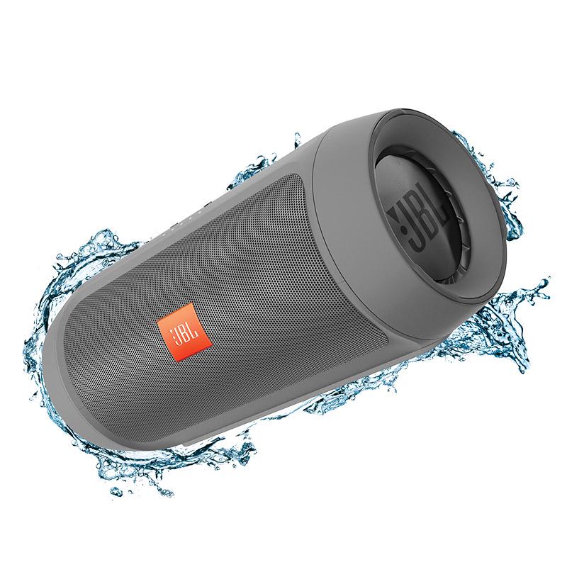 ลำโพงพกพา JBL Charge 2+ Bluetooth Speaker (Grey)