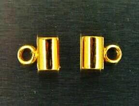 ข้อกลางทองคำ ขนาด 4.50 มิล ยาว 6.0 มิล
