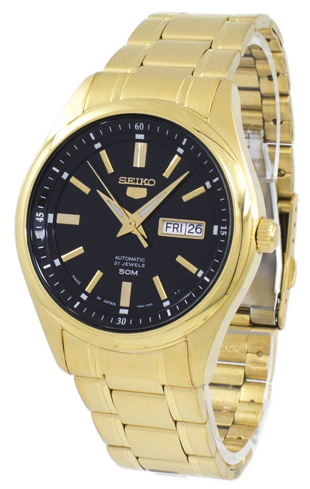 นาฬิกาผู้ชาย Seiko รุ่น SNKN98J1, Seiko 5 Sports Automatic Japan Made Men's Watch