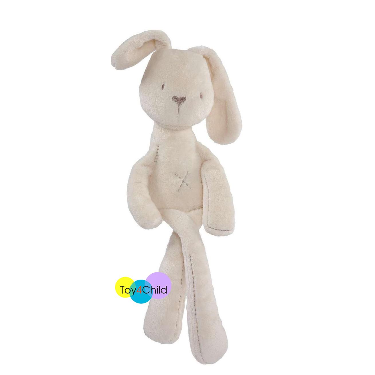 ตุ๊กตากระต่าย ขนนุ่ม สีขาว Mamas & Papas Millie Soft Toy ของแท้ ราคาถูก