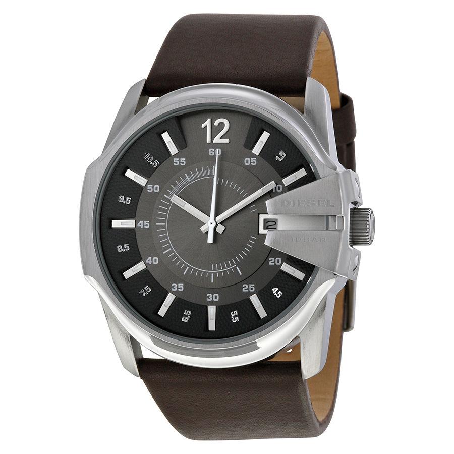 นาฬิกาผู้ชาย Diesel รุ่น DZ1206, Master Chief Quartz Brown Leather Men's Watch