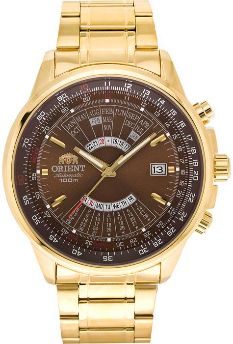 นาฬิกาผู้ชาย Orient รุ่น FEU07003TX, Automatic 100M WR Perpetual Calendar
