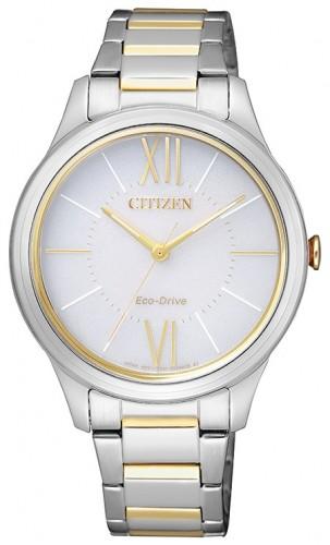 นาฬิกาข้อมือผู้หญิง Citizen Eco-Drive รุ่น EM0414-57A, Elegant Watch