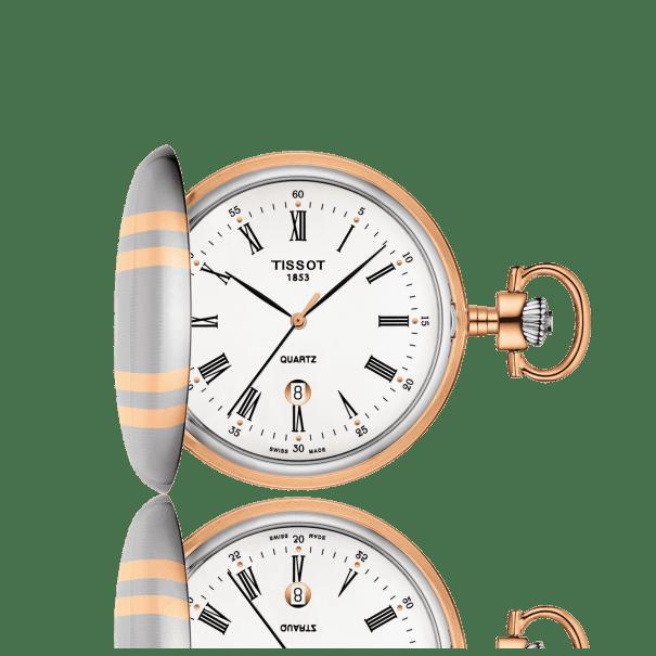 นาฬิกาพก Tissot รุ่น T8624102901300, T-Pocket Savonnette Quartz