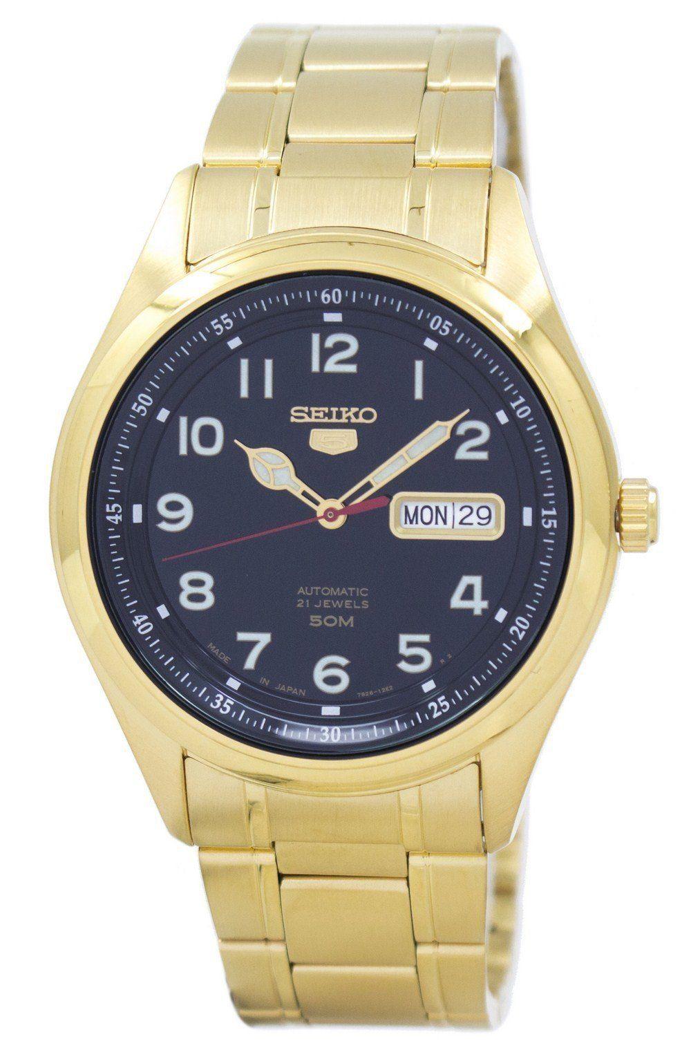 นาฬิกาผู้ชาย Seiko รุ่น SNKP08J1, Seiko 5 Automatic Japan