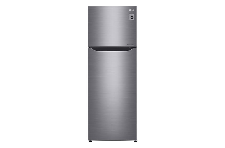 ตู้เย็น 2 ประตู ระบบอินเวอร์เตอร์ 11 คิว LG สีเงิน รุ่นGN-C372SLCN