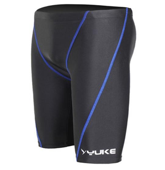 ชุดว่ายน้ำคนอ้วนชาย พร้อมส่ง :กางเกงว่ายน้ำชายสีดำแต่งขอบสีน้ำเงิน มีหมวกแบบสวยจ้า:เอว30-36นิ้ว สะโพก34-42นิ้วจ้า