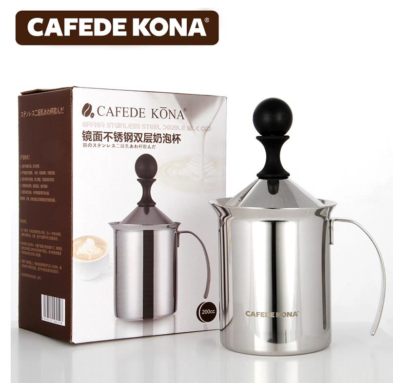 Cafede Kona ที่ปั๊มฟองนม ขนาด 200 cc