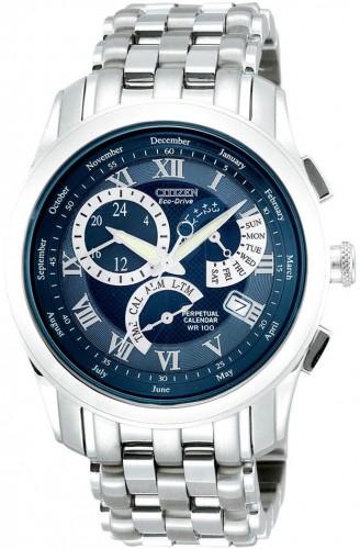 นาฬิกาข้อมือผู้ชาย Citizen Eco-Drive รุ่น BL8007-55L, Perpetual Calendar Watch