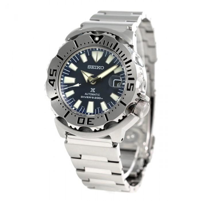 นาฬิกาผู้ชาย Seiko รุ่น SZSC003, Prospex 200m Dive Navy Monster Japan