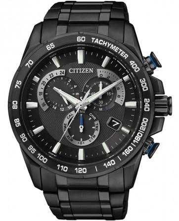 นาฬิกาผู้ชาย Citizen Eco-Drive รุ่น AS8025-57E, Radio Controlled Titanium Sapphire Japan Made Men's Watch