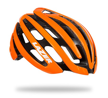 หมวกจักรยาน Z1 / Flash Orange + LED