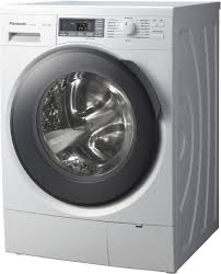 เครื่องซักผ้าฝาหน้า 8 KG.PANASONIC NA-148VG3