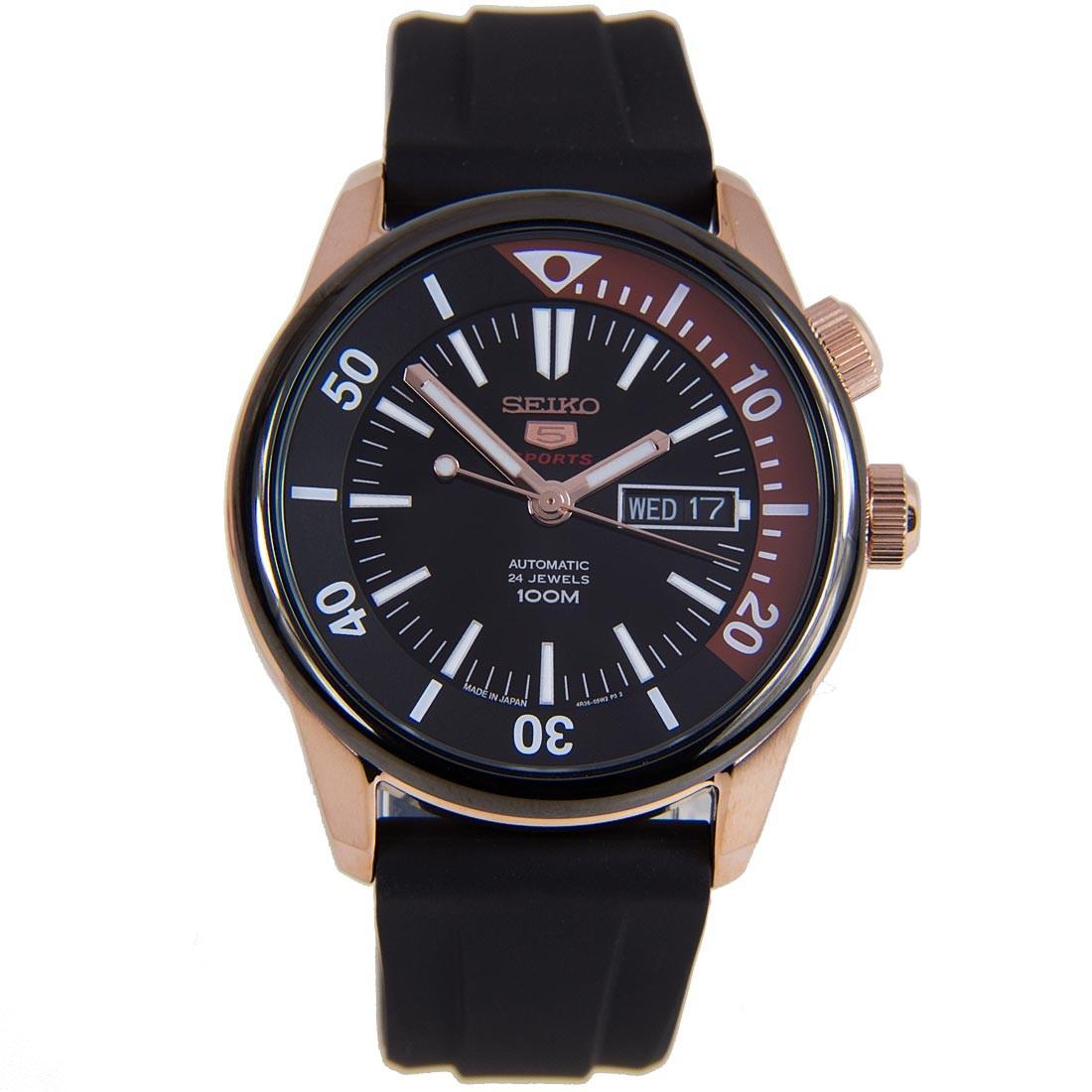 นาฬิกาผู้ชาย Seiko รุ่น SRPB32J1, Seiko 5 Sports Automatic Japan