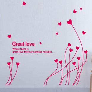 สติกเกอร์รูปหัวใจสีชมพู
