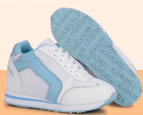 (พร้อมส่ง) รองเท้าผ้าใบลาดชันทรงกีฬาแฟชั่น