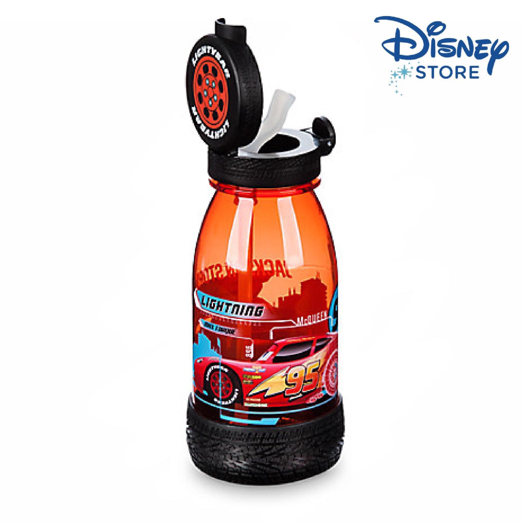 กระติกน้ำดีไซน์สุดพิเศษสำหรับเด็ก Disney Drink Bottle with Straw (Cars 3)