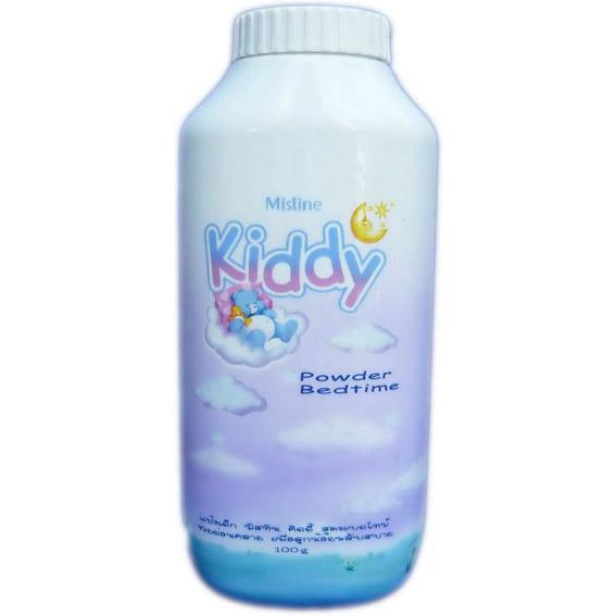 แป้งเด็ก มิสทิน/มิสทีน คิดดี้ สูตรเบดไทม์ Mistine Kiddy Powder Bedtime