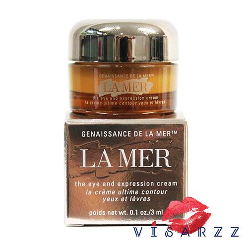 (Tester) La Mer Genaissance de La Mer the Eye and Expression Cream 3mL สุดยอดอายครีม ช่วยให้ผิวรอบดวงตาที่บอบบางแลดูมีชีวิตชีวาสดใสด้วยความชุ่มชื้นที่อุดมด้วยการฟื้นบำรุง ถุงใต้ตา เส้นริ้ว รอยคล้ำรอบดวงตา แลดูจางลง