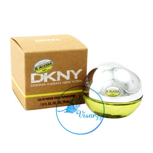 DKNY Be Delicious Eau De Parfum Spray 30 mL แอปเปิ้ลเขียว ตัวที่ขายดีที่สุดในหมู่ DKNY