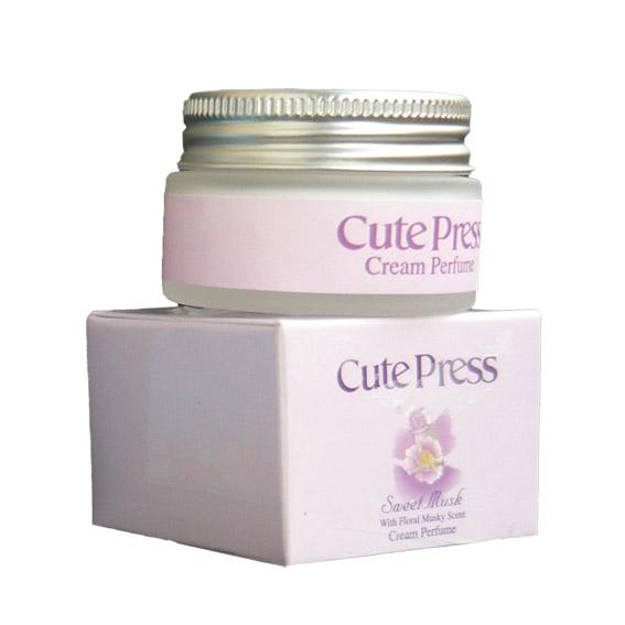 คิวเพรส สวีท มัสค์ ครีม เพอร์ฟูม Cute Press Sweet Musk Cream Perfume