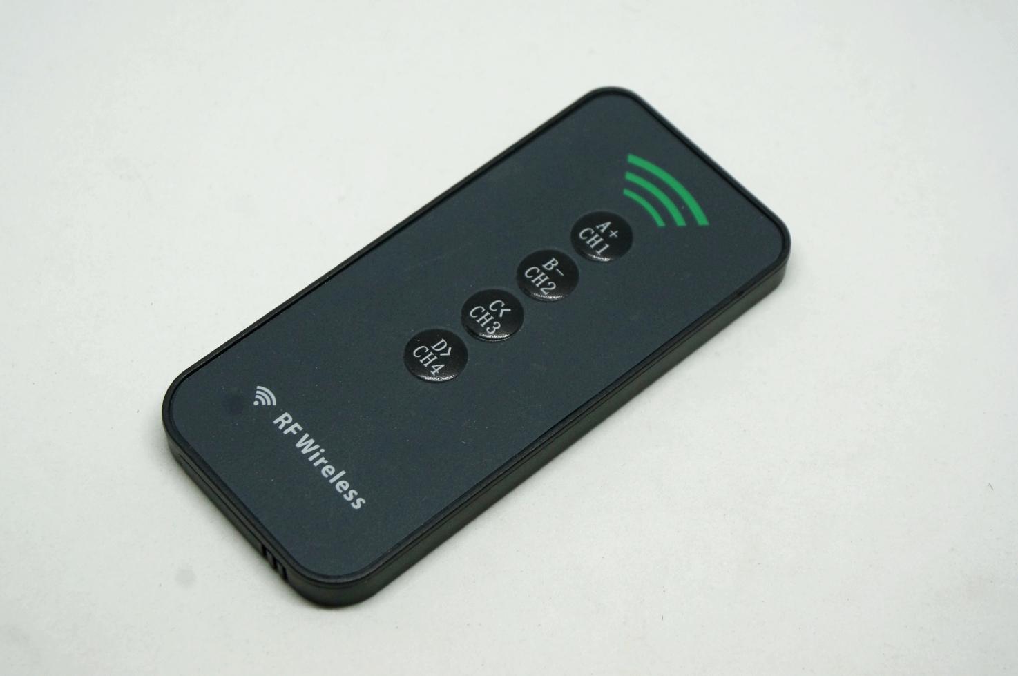 433MHz Wireless RF Remote Control 4 Keys