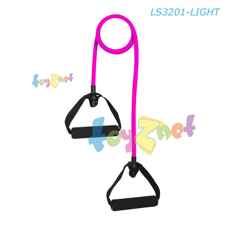 Liveup เชือกยางยืดออกกำลังกาย ระดับเบา (สีชมพู) รุ่น LS3201-L