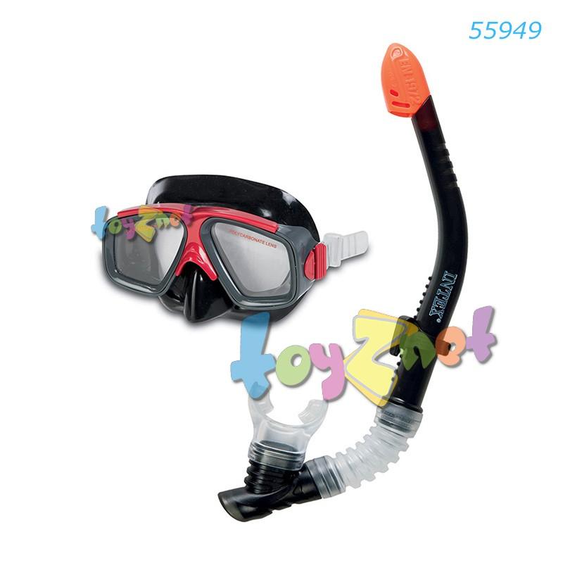 Intex ชุดหน้ากาก-ท่อหายใจ เซิร์ฟไรเดอร์ รุ่น 55949