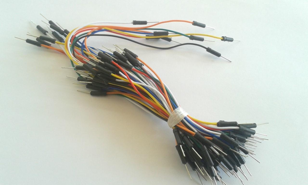 Jumper Wire for Breadboard 65 เส้น