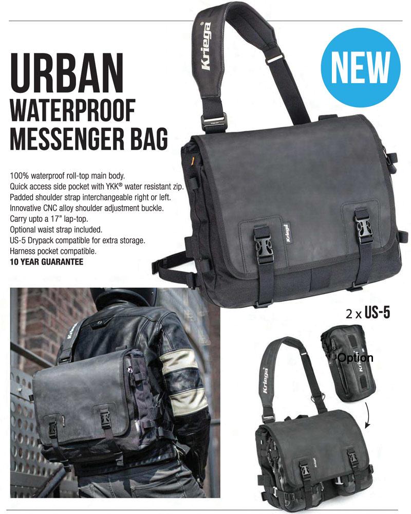 Kriega URBAN Waterproof MESSENGER BAG