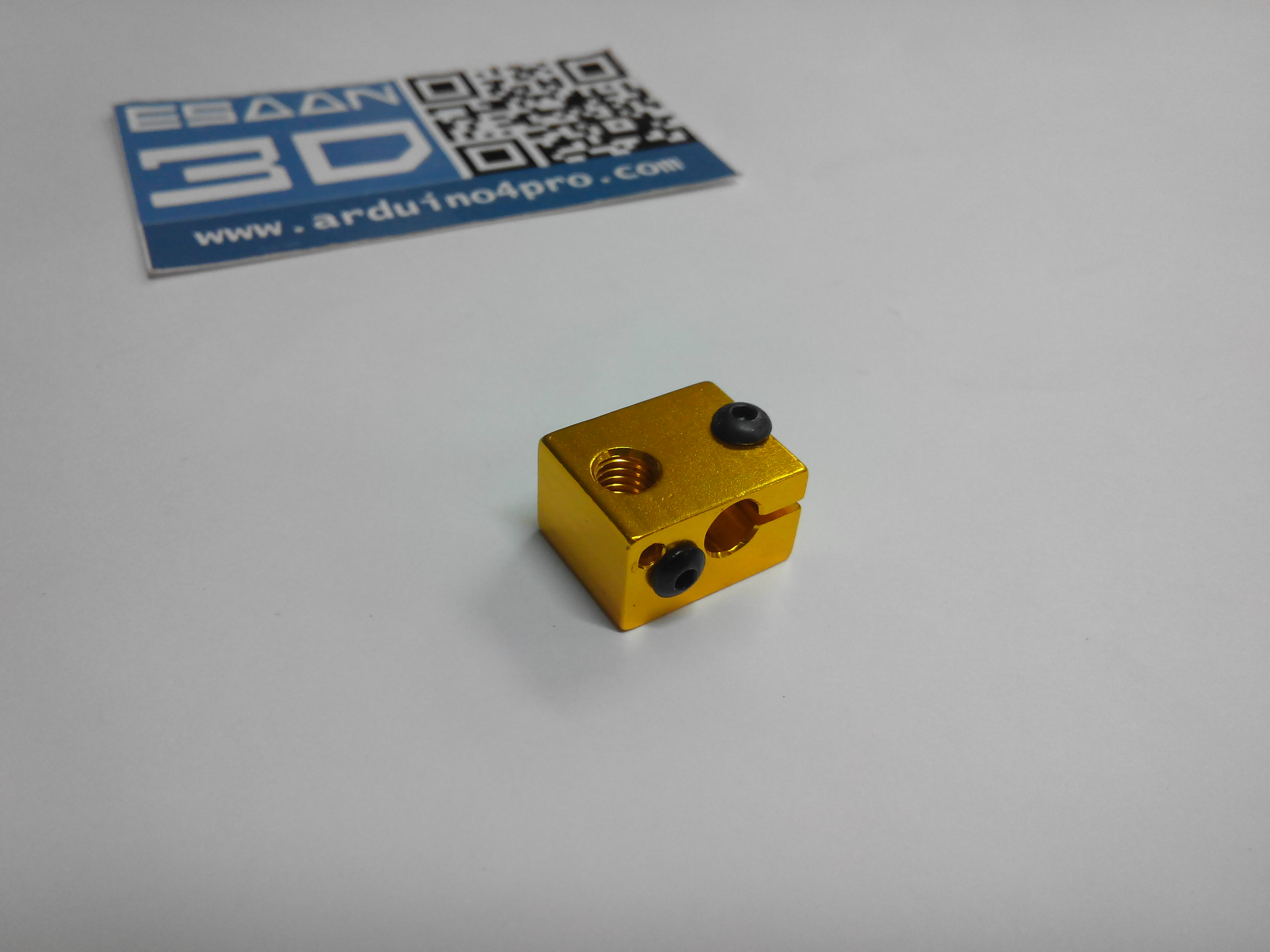 Golden Aluminium Heat Block