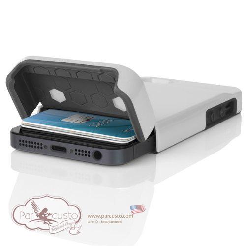 เคสกันกระแทก Apple iPhone SE / 5 /5s [STASHBACK] จาก Incipio [Pre-order USA]