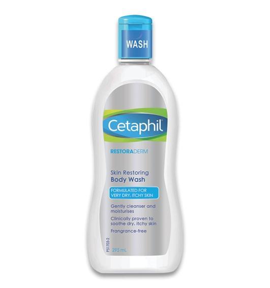 Cetaphil restoraderm body wash 295ml สำเนา