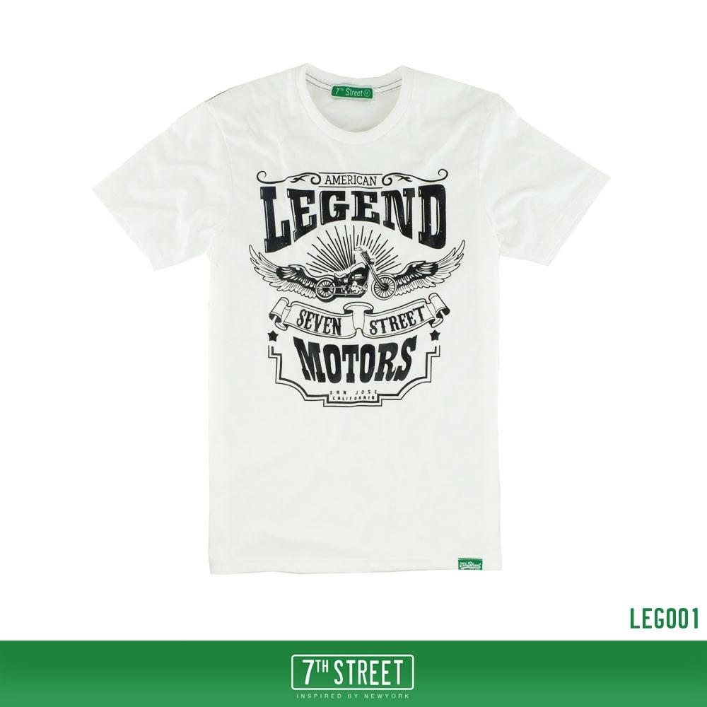 เสื้อยืด 7TH STREET - รุ่น Legend | White