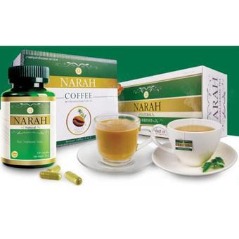Narah Herbal Tea + Narah Coffee 3 in 1 + Narah Capsule [แพ็ค 3]