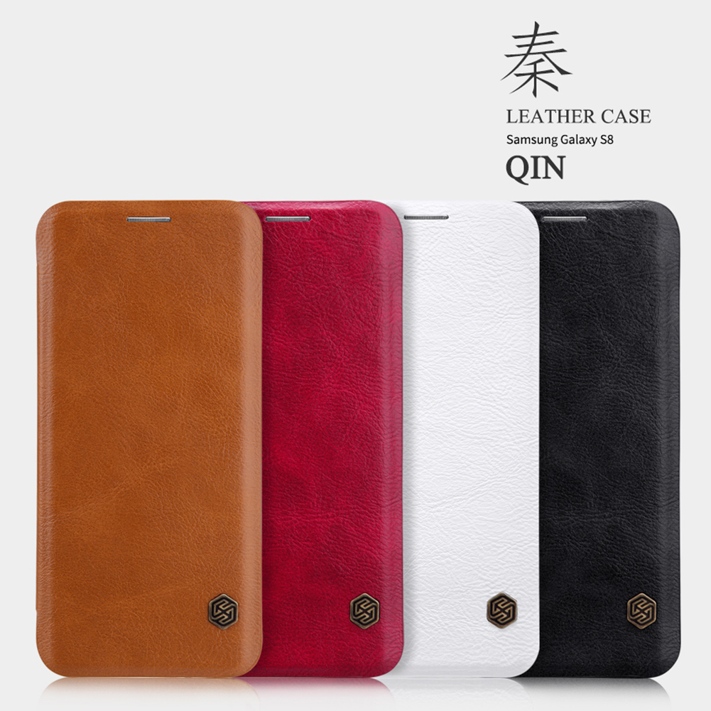 เคสฝาพับ NILLKIN Qin Leather Case Galaxy S8