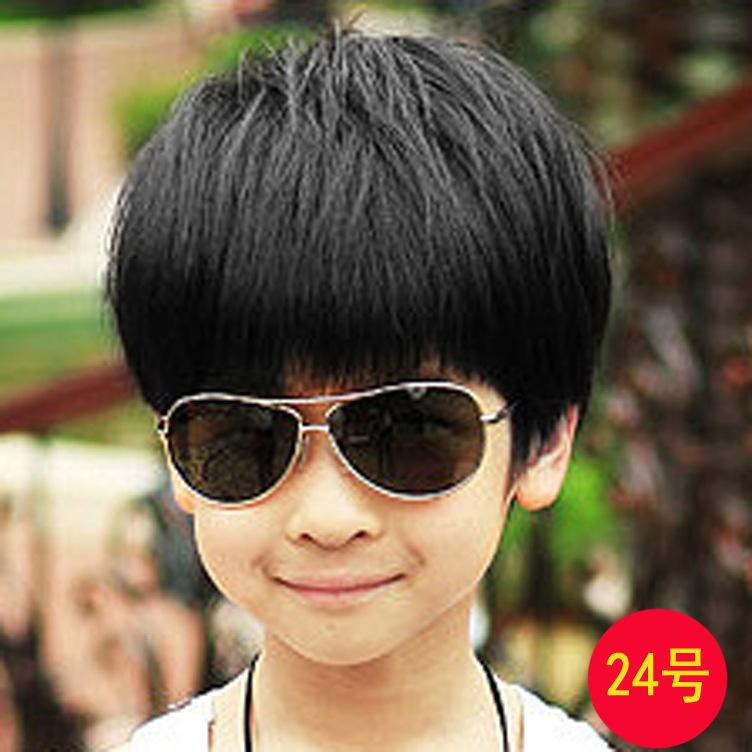 วิคผมเด็กชาย-สไตล์เกาหลี (สีดำ)