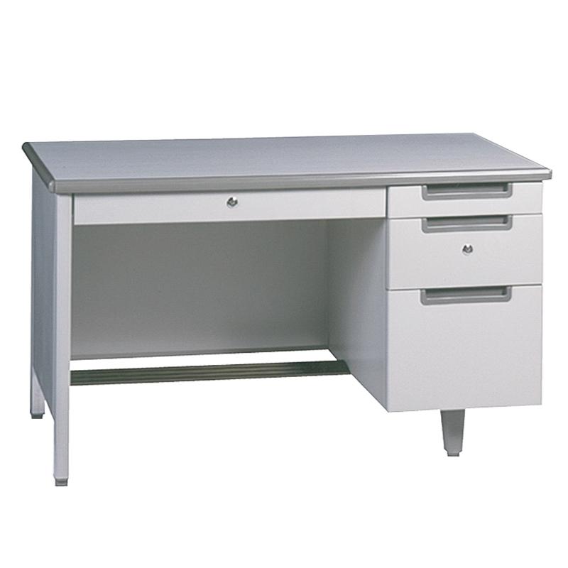 โต๊ะทำงานเหล็ก ขนาด 4 ฟุต MT-2648