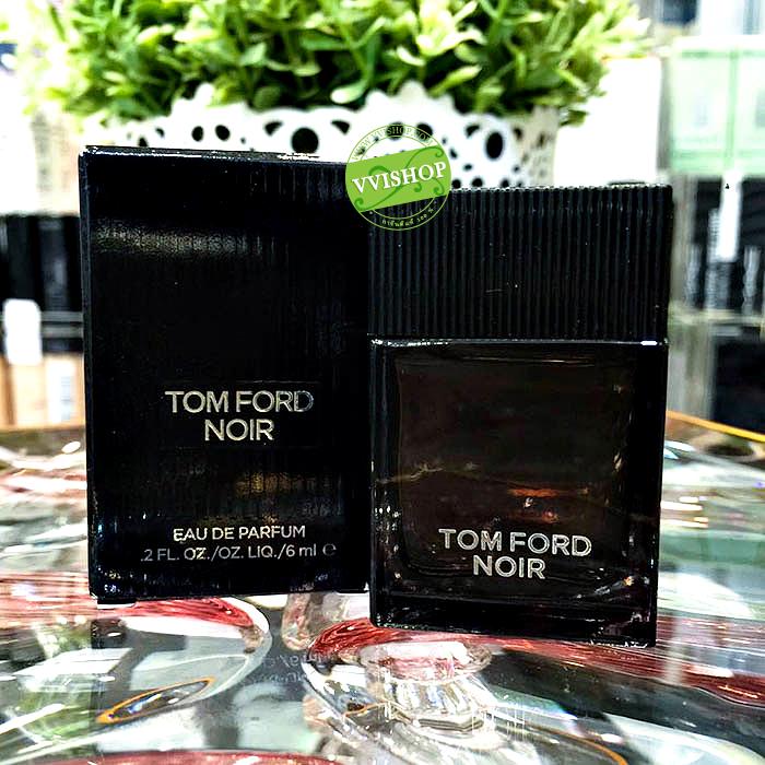 TOM FORD Noir EDP 6 ml. (หัวแต้ม) น้ำหอมกลิ่นหอมร้อนแรงสำหรับชายหนุ่ม อ่อนหวาน เข้มแข็งและมีเสน่ห์