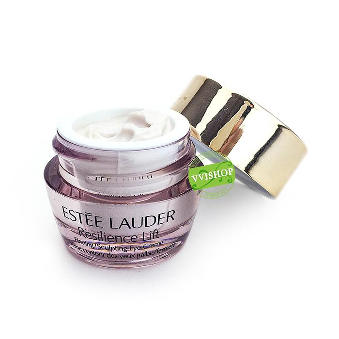 Estee Lauder Resilience Lift Extreme Ultra Firming Eye Creme 5 ml เนื้อครีมเข้มข้น เสริมความกระชับให้ผิวรอบดวงตา