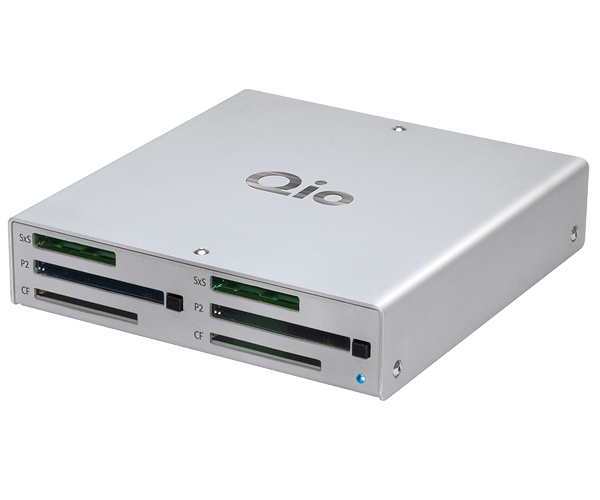 Qio Professional Universal Media Reader PCIe [Mac Pro]